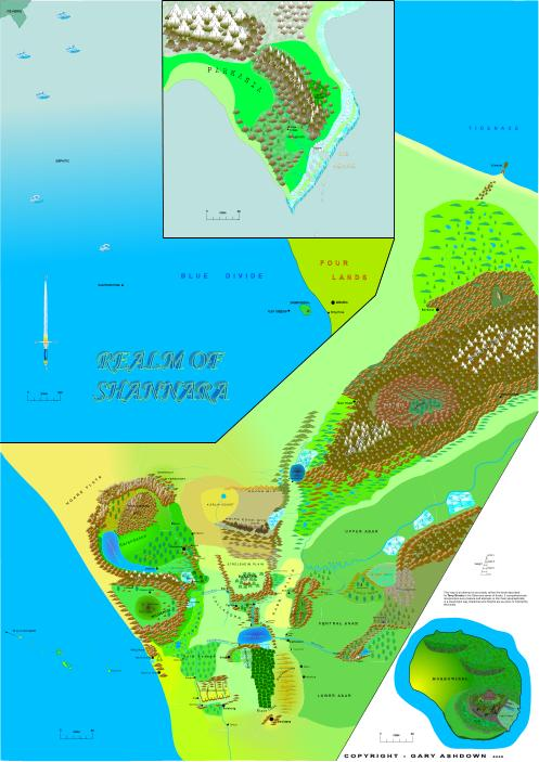 The world map of shannara realm of shannara the gumiabroncs Gallery