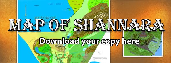 Digital Map For The World Of Shannara Realm Of Shannara